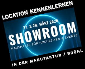 Showroom by Metz Catering – Banner_2020 Hochzeitsmesse + Eventlocations Köln Bonn